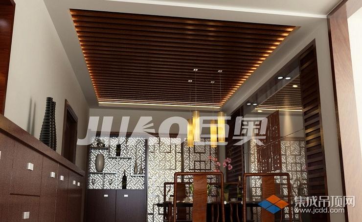 中式餐厅-方管